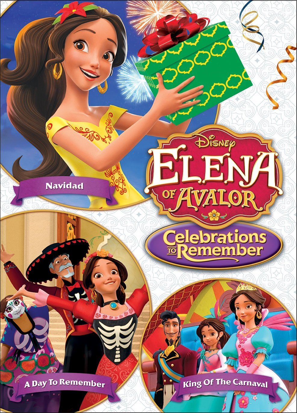 Elena Of Avalor: Celebrations To Remember [2017] [DVDR] [NTSC] [Latino]