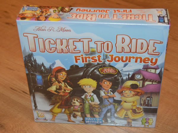 Review - Ticket To Ride, First Journey