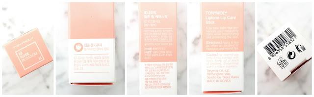 Rose lip balm packaging