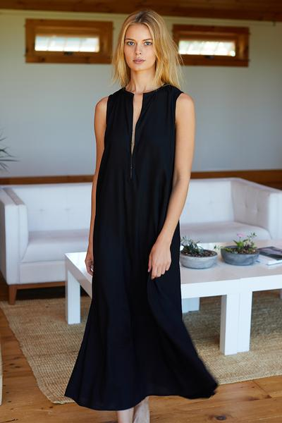 Emerson Fry Minimal Black Summer Dress