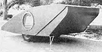Homemade Pop Up Picture 1 Teardrop Style Trailer Was From Wood Popular Mechanics December 1939