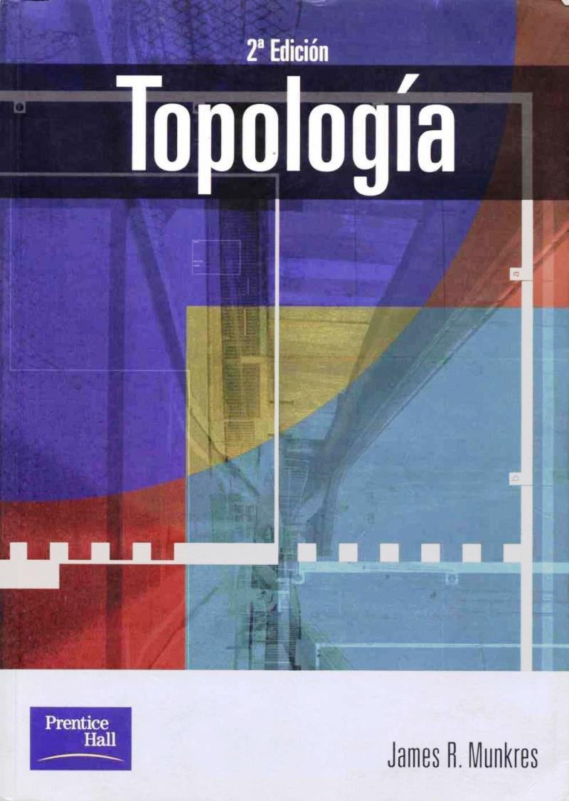 Topología, 2da Edición – James R. Munkres