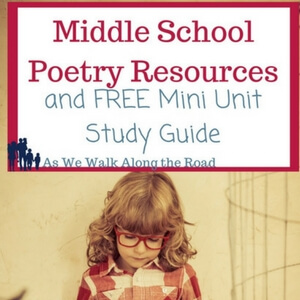 Middle School Poetry Unit Study
