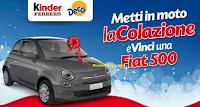 Logo Da Decò con Kinder e Ferrero vinci una Fiat 500 POP