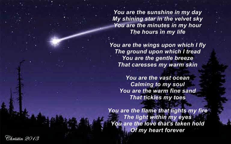 You Are Love My Life Poem