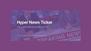 Hyper News Ticker