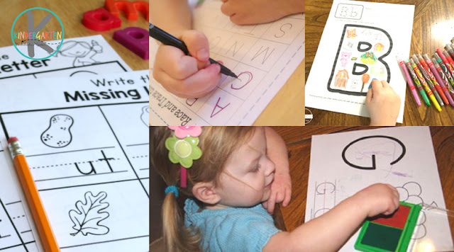 kindergarten worksheets - reading