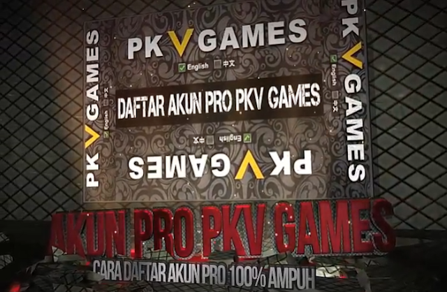 Cara Daftar ID Pro Pkv Games