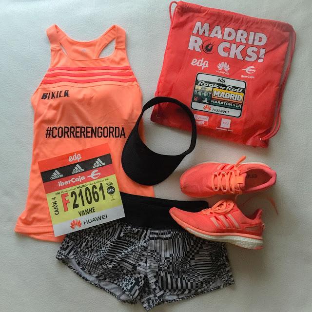 Mi Diario Runner, Rock 'n' Roll Madrid, RnR, medio maraton, 2016