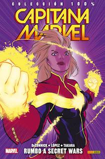 http://www.nuevavalquirias.com/capitana-marvel-100-marvel-comic-comprar.html