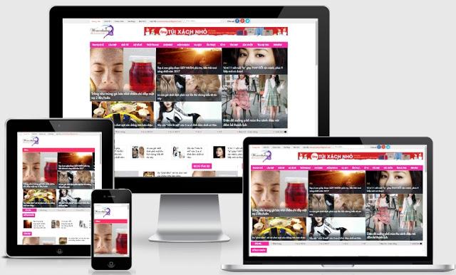 Templates blogspot tin tức chuẩn seo chuyên nghiệp