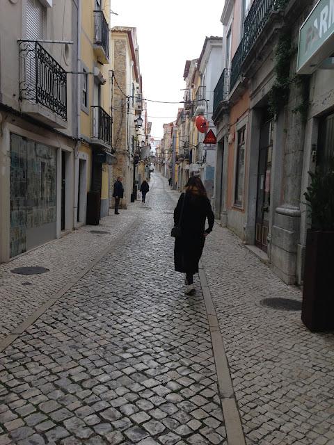 pelas ruas do centro histórico de setúbal