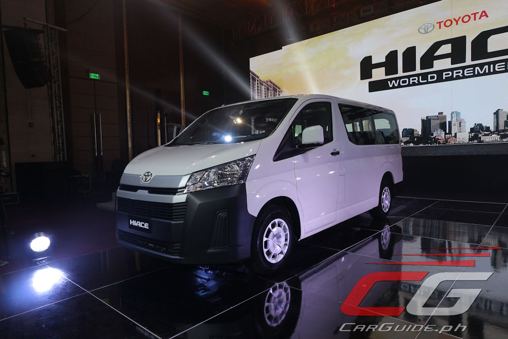 Toyota Philippines Launches All-New 2020 Hiace (w/ 37 Photos, Specs