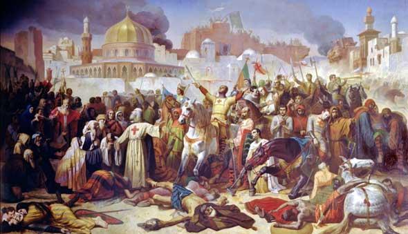 1. Haçlı Seferi'nde Kudüs'ün fethi
