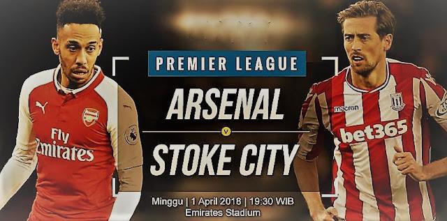 Prediksi Arsenal vs Stoke City Liga Inggris