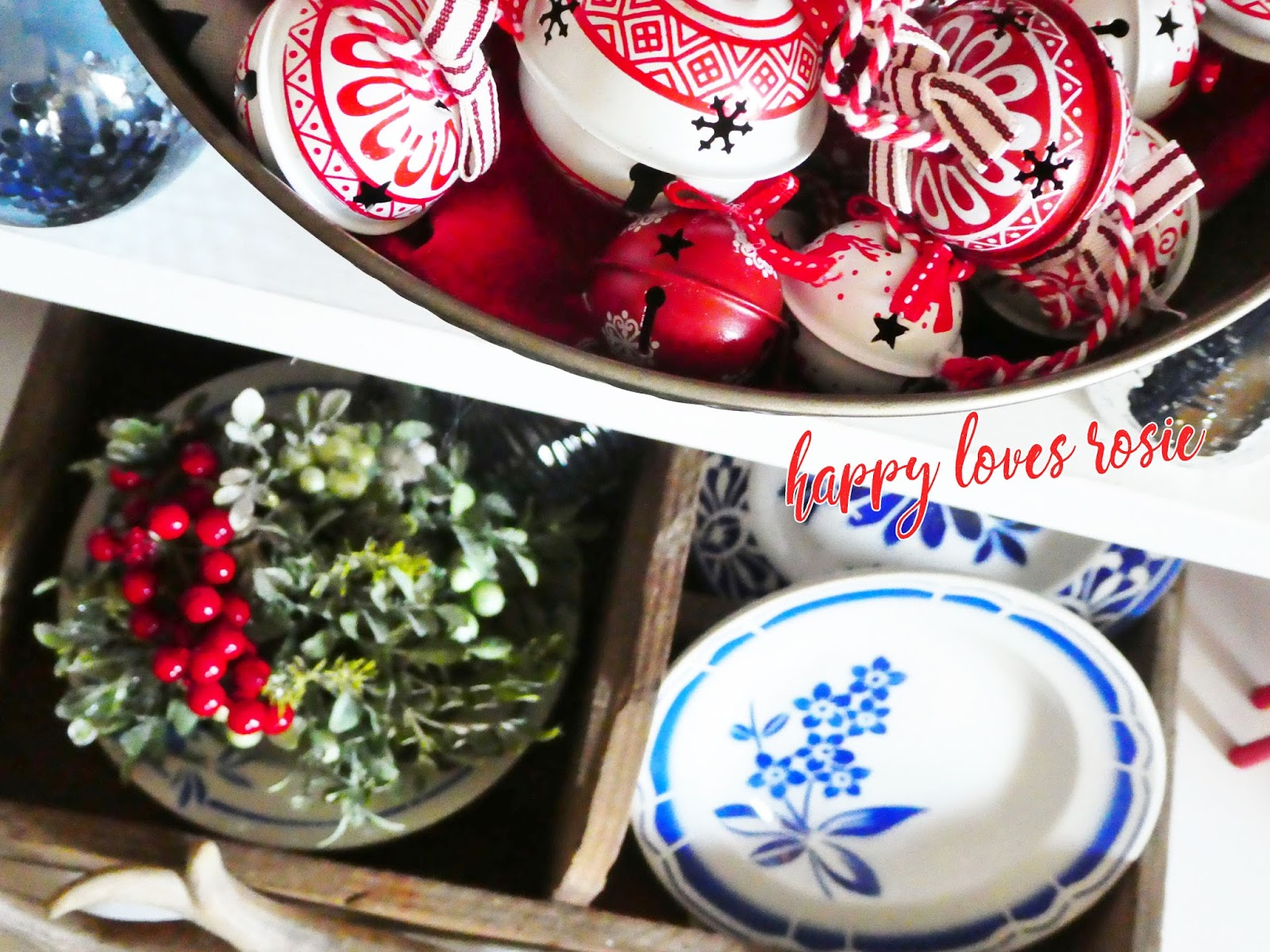 christmas baubles and inspiration
