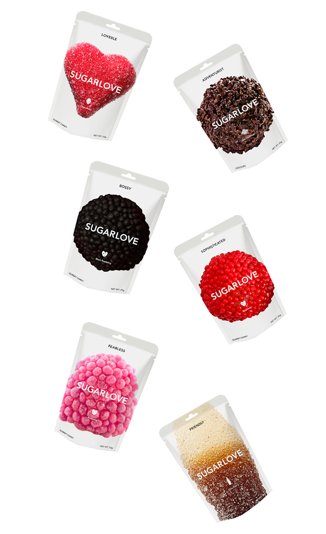 Sugarlove Labels & Packaging By Alaa Abuamra