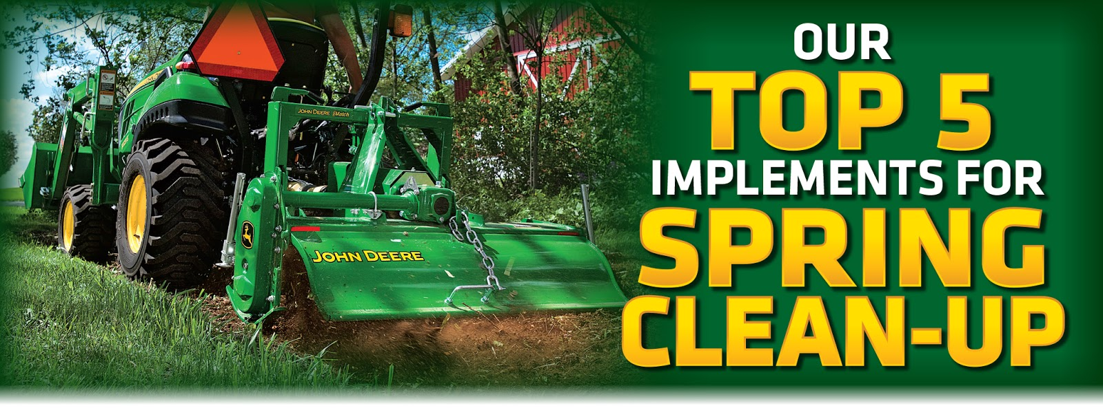 Top 5 Compact Utility Tractor Implements for Spring Yard Clean-Up