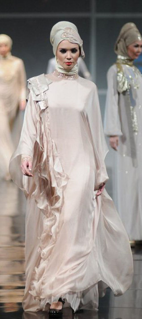 Irna Muslim Wedding Dress La Perle