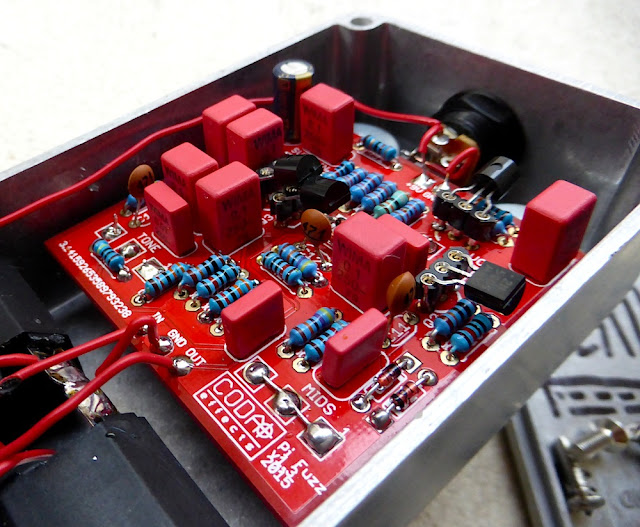 Big Muff Ram's Head DIY circuit
