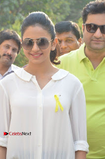 Actress Rakul Preet Singh at Endometriosis Awareness Walk at Apollo Cradle  0013.jpg