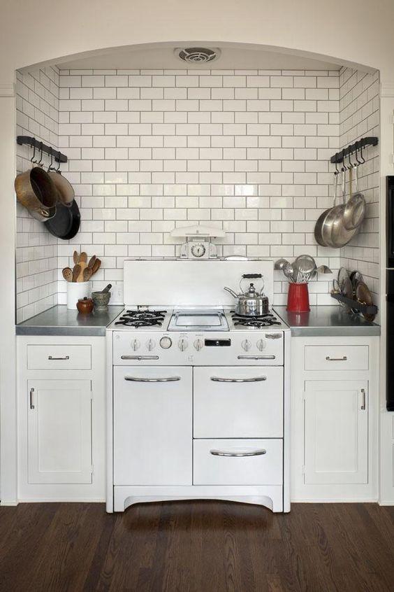 vignette design: Kitchen Stove Niches
