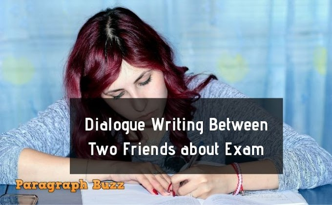 A Dialogue Writing Between Two Friends about Exam