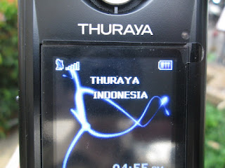 Cara Penggunaan Handphone Satelit Thuraya (How To Use Thuraya Satellite Phone)