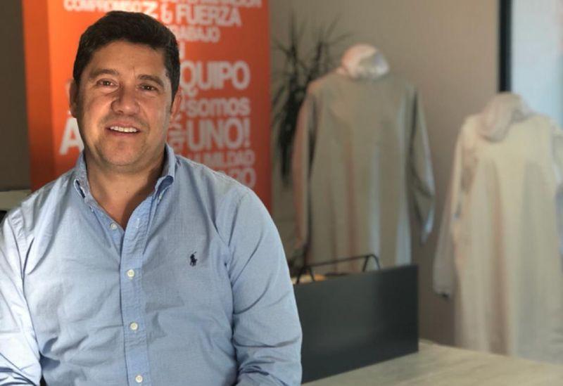 Egon Kiessling, propietario de Plus Industrial