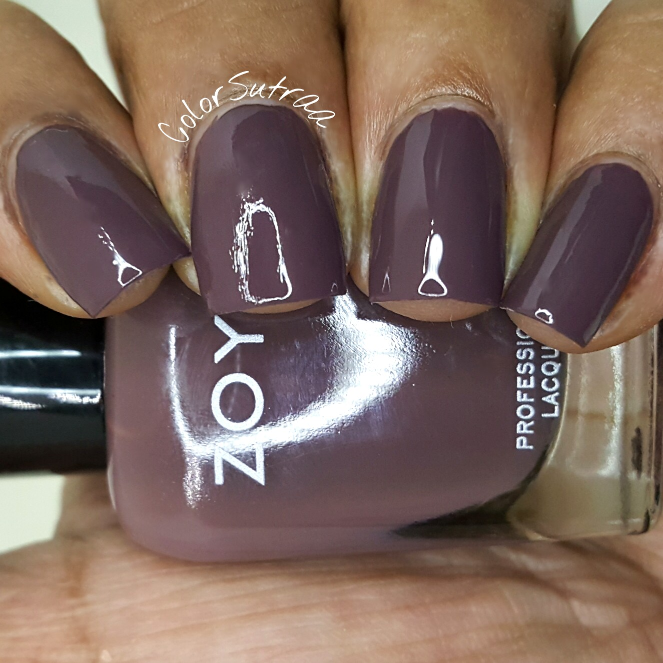 Zoya Nail Polish Naturel 3 Collection Swatches And Review Colorsutraa Jill Beauty Lip Matte 13 Purplish Plum Debbie Is Described As A Brown Cream In The Classic 2 Coat Coverage Formula This My Favorite From I Absolutely Love