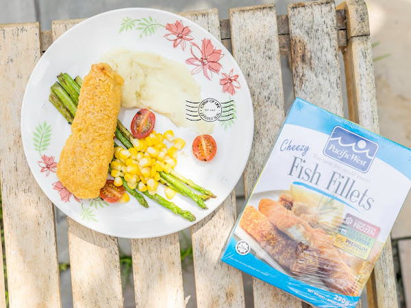 Easy Western Food Recipe with Pacific West's New Cheezy Fish Fillets