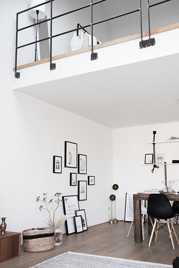 Casual loft in Antwerp via Style My Day