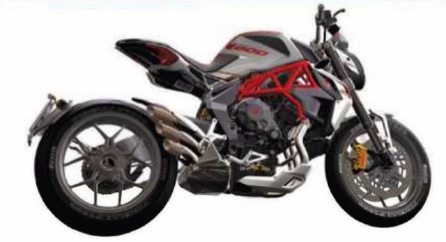 MV Agusta Dragster 800 ABS 2014 Preview - Kompak Dan Agresif