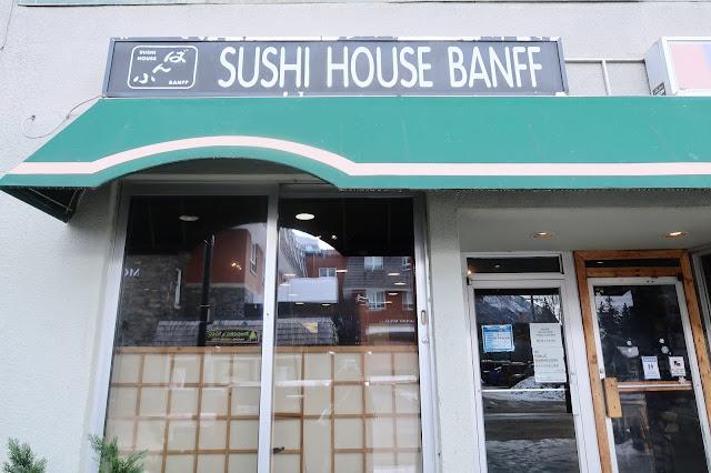 Sushi House Banff, Banff National Park, Alberta, Canada