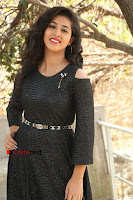 Telugu Actress Pavani Latest Pos in Black Short Dress at Smile Pictures Production No 1 Movie Opening  0283.JPG