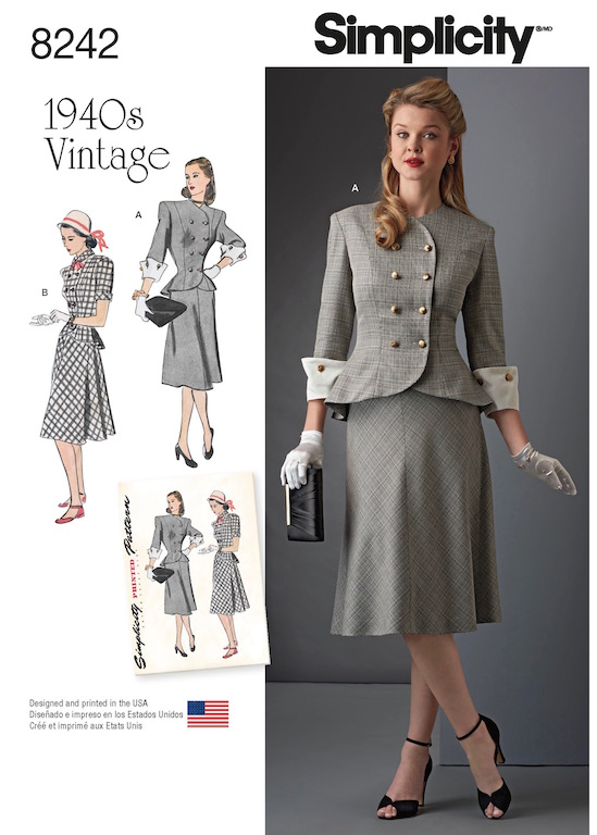 Lilacs Lace A Smorgasbord of Vintage Reproductions from Simplicity Inspiration Simplicty Patterns