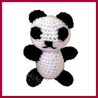 panda amigurumi patron gratis