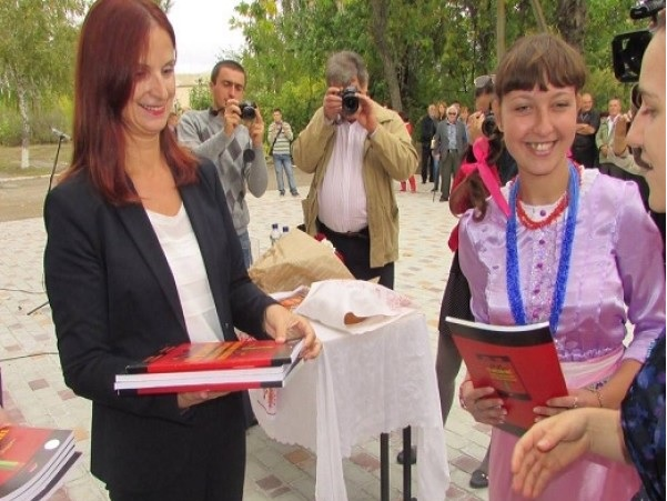 Albanian school in Ukraine started working
