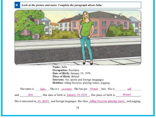 9. Sınıf Yıldırım Yayınları İngilizce A1.2 Çalışma Kitabı 18. Sayfa Cevapları Theme 2 Personality and Character