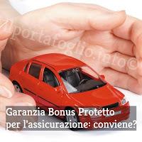 assicurazione auto o moto: la garanzia accessoria bonus protetto
