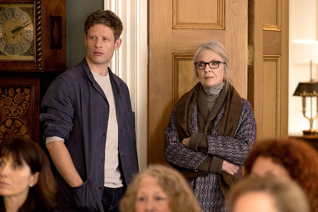 Diane Keaton and James Norton in Hampstead