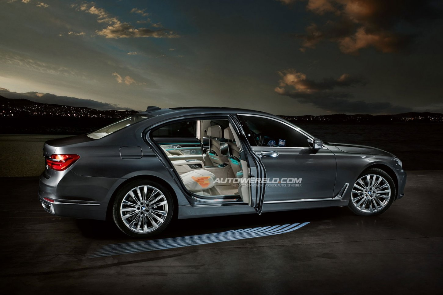 2016 bmw 7 series photos leak on the web carscoops. Black Bedroom Furniture Sets. Home Design Ideas