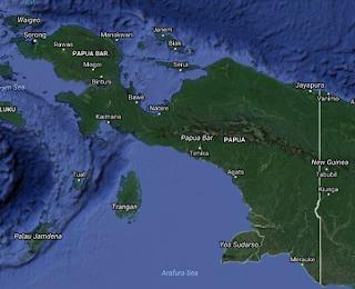 pulau terbesar pertama adalah papua