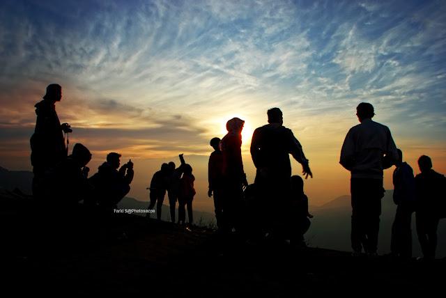 perjalanan, foto bukit sikunir, sikunir, sunrise sikuinir, sunrise, wonosobo, travelling ke Dieng