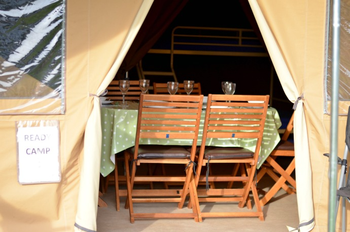 Ready camp Canterbury, glamping with kids
