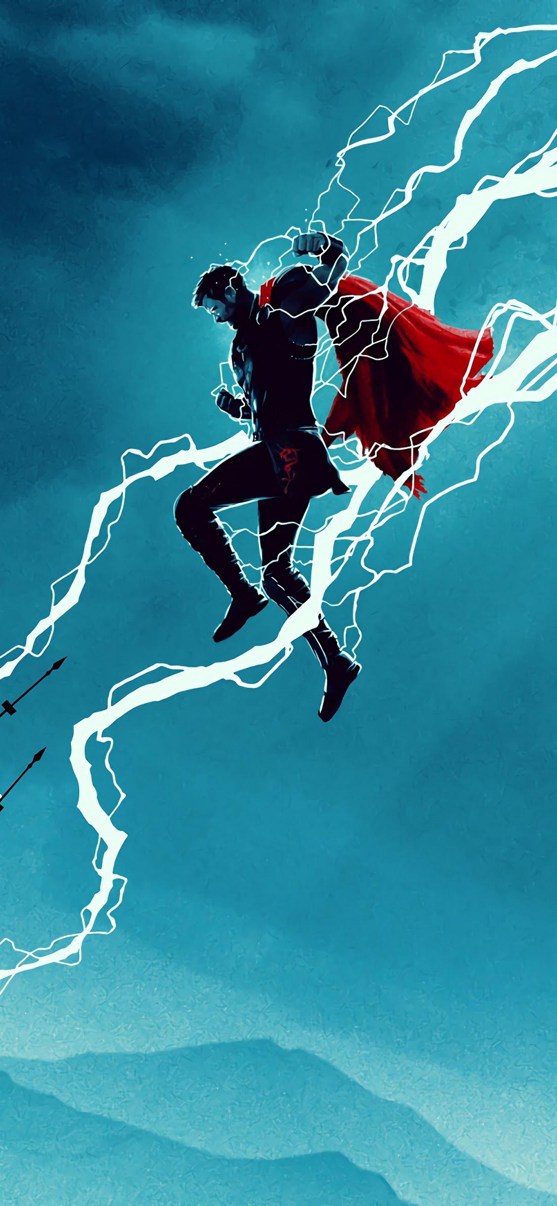 Thor Lightning 4k Wallpaper 164