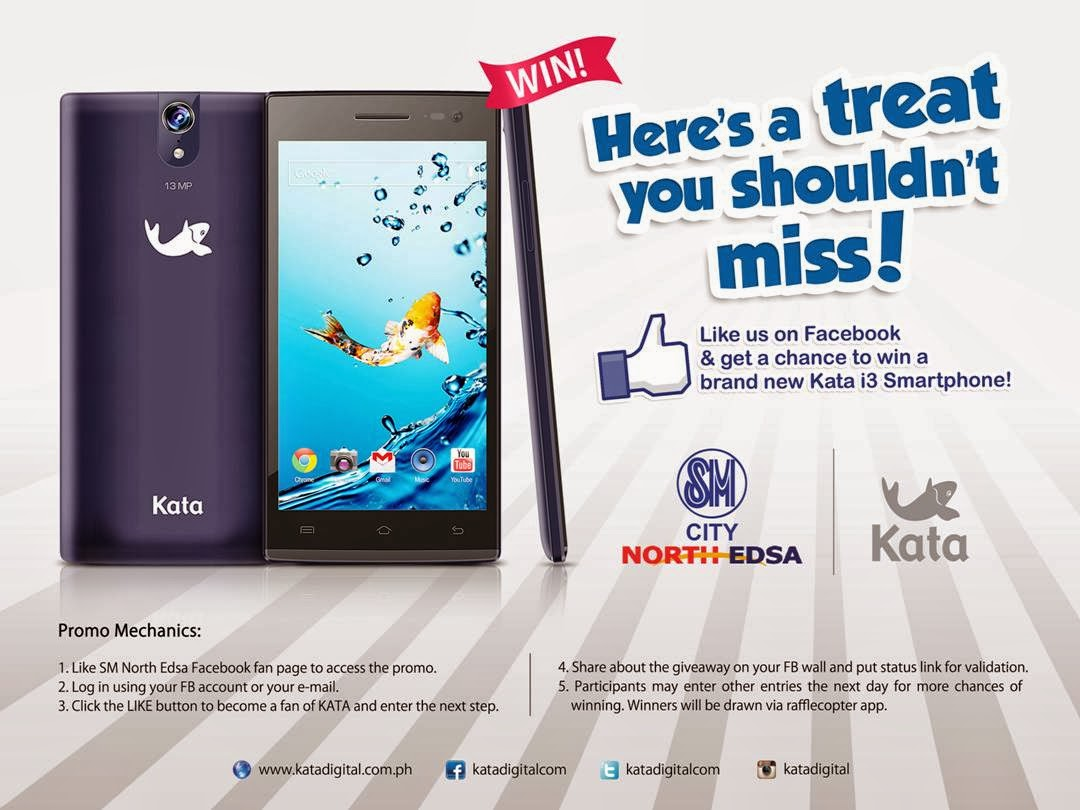KATA and SM City North Edsa's i3 Giveaway!