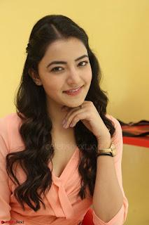 Rukshar Mir in a Peachy Deep Neck Short Dress 050.JPG