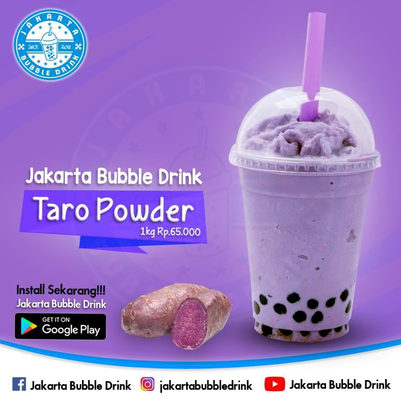 Supplier Bubuk Minuman Taro Di Cibinong Bogor