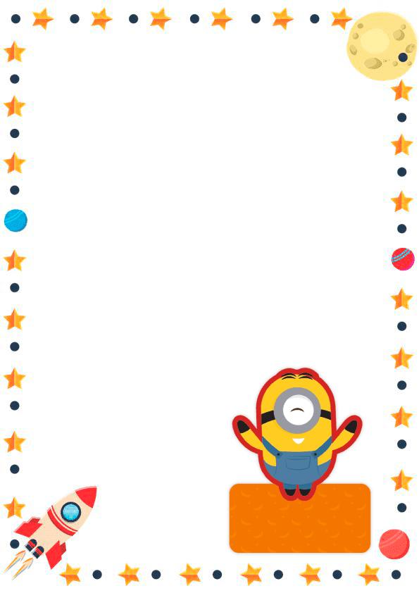 caratulas para cuadernos para niños y niñas de primaria de minion